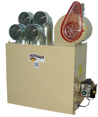 Heatwave Waste Oil Heater - Model 350 - Click to Enlarge